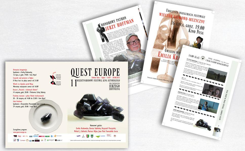 Le cataloque de Quest Europe 2015