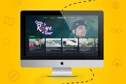 DANS LA ROUE DU TOUR - Logo et animation vidéo