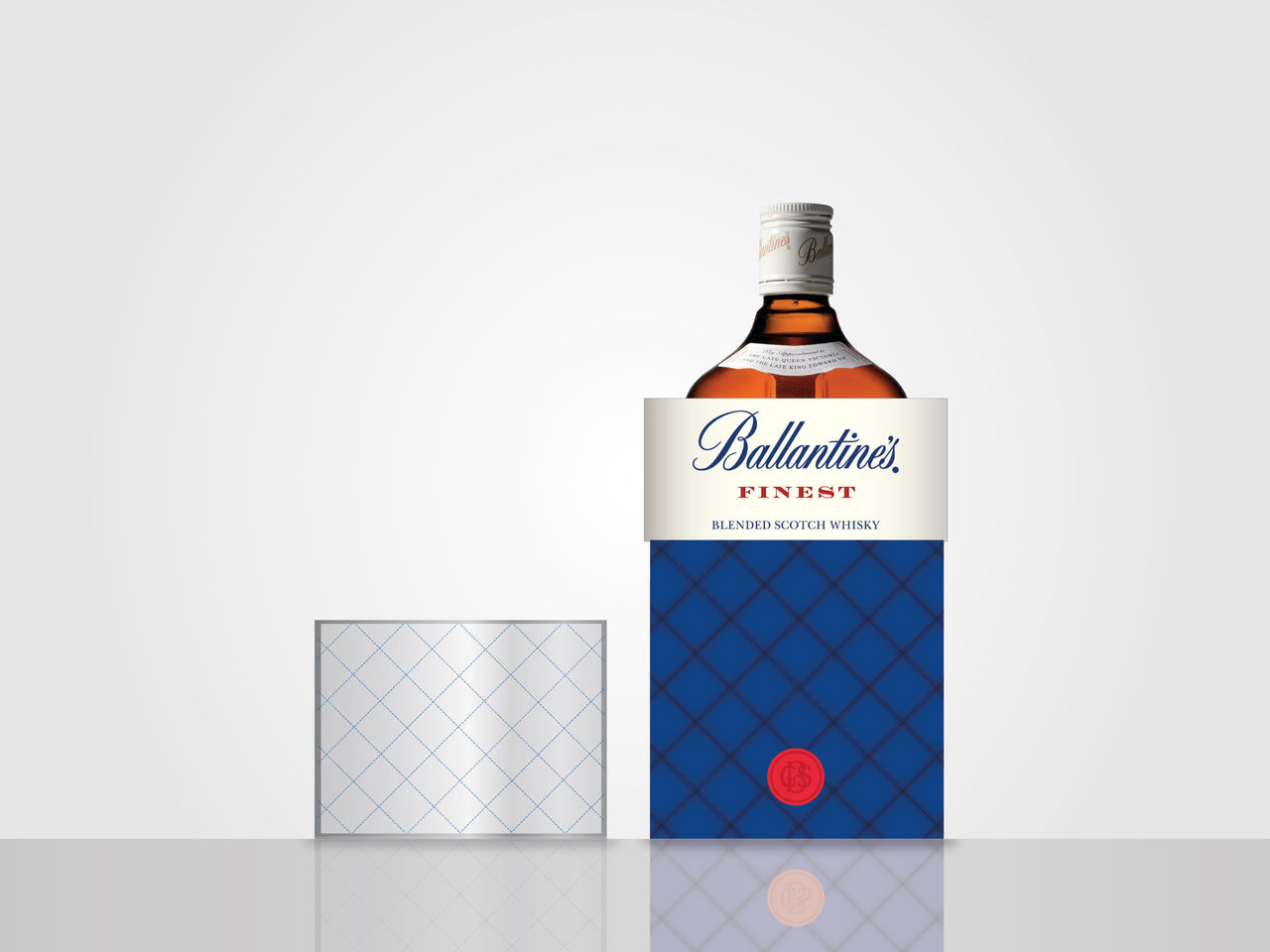 PACKAGING BALLANTINE'S