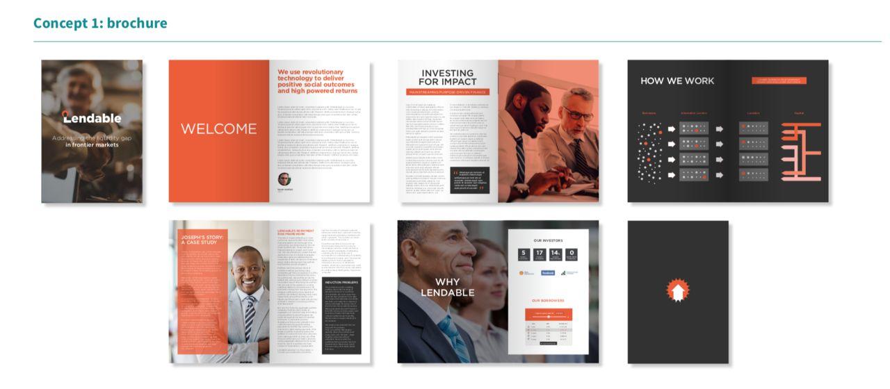 LENDABLE - Brochure de présentation