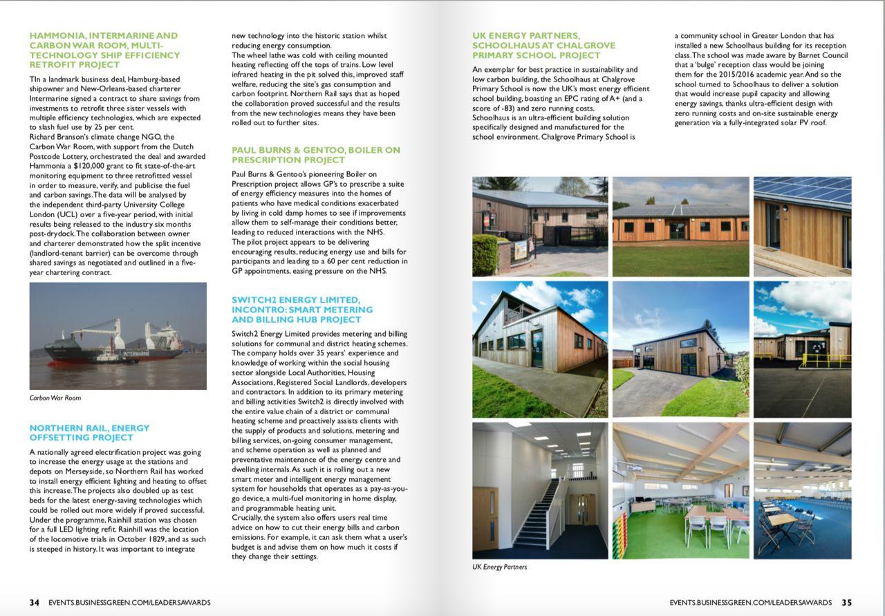 BUSINESS GREEN - Magazine écologie