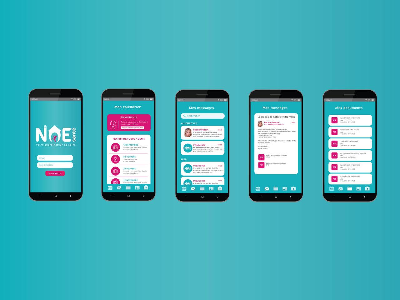 NOE - Application mobile