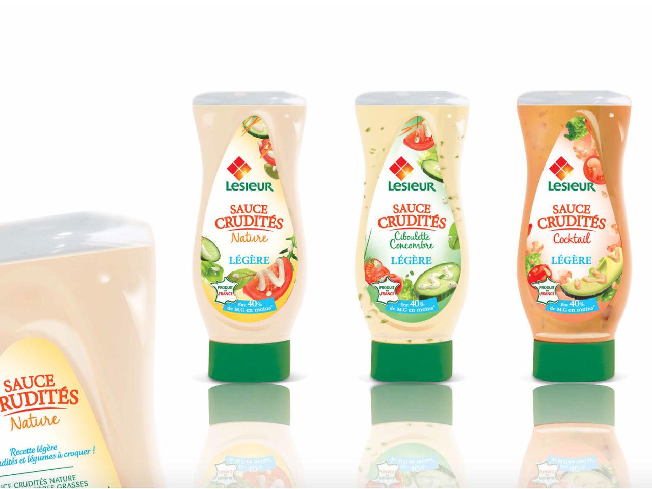 LESIEUR - Packaging des sauces