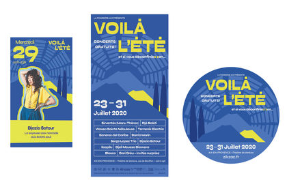 Communication visuelle festival