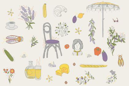 "Autocollants ""La Provence"""