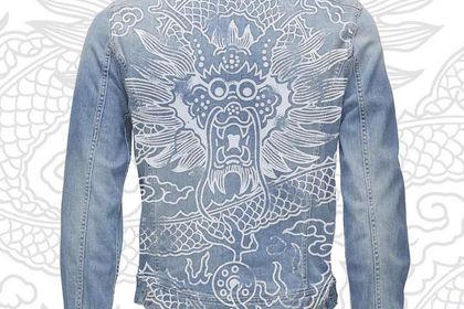 Veste Jeans Design pour la marque De Luxe en Chine