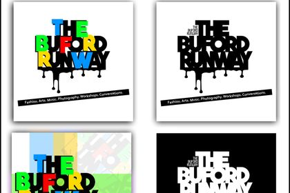 "Logo + visuel ""THE BUFORD RUNWAY"""