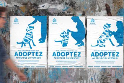 Au Refuge - Affiches & flyers