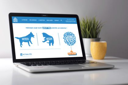 Au Refuge - Webdesign