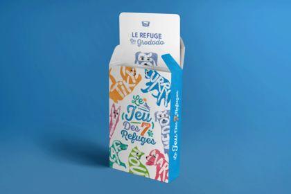 Au Refuge - Jeu de cartes