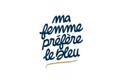 Logo - Ma Femme Préfère Le Bleu