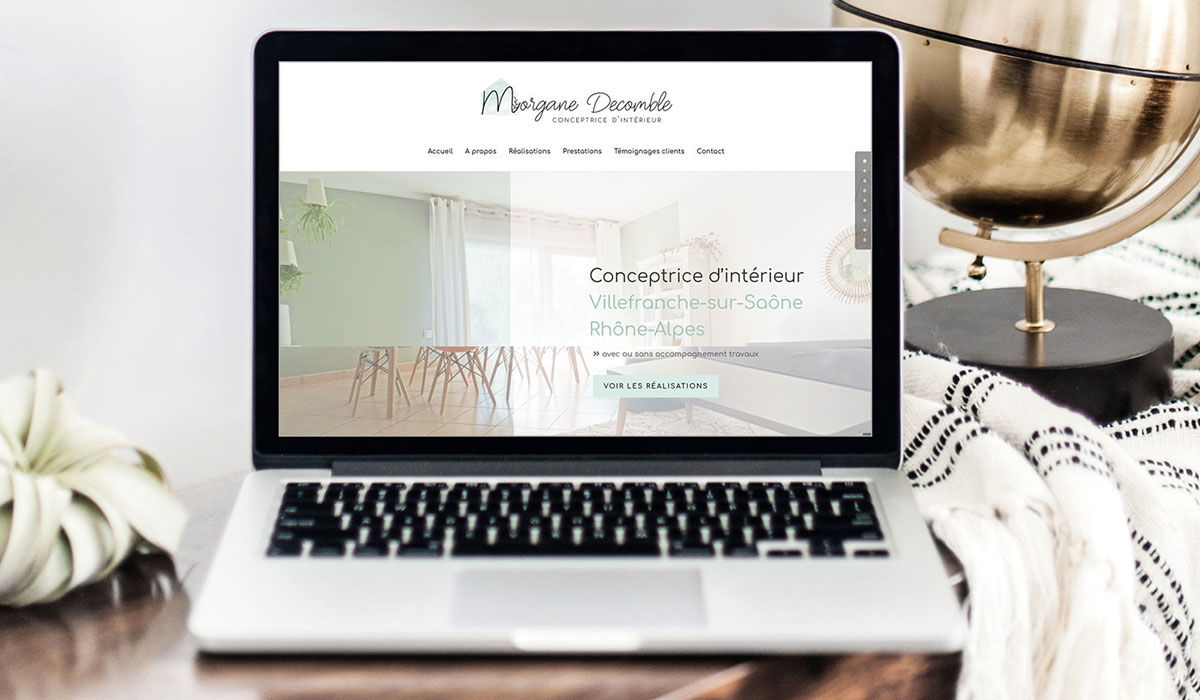Morgane Decomble - Conceptrice d'intérieur - Site