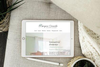 Site One Page - Concepteice d'interieur