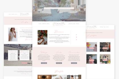 Site vitrine - Natacha M. Events, Wedding Planner