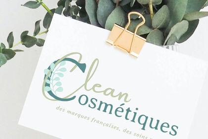 Identité visuelle Clean Cosmétiques
