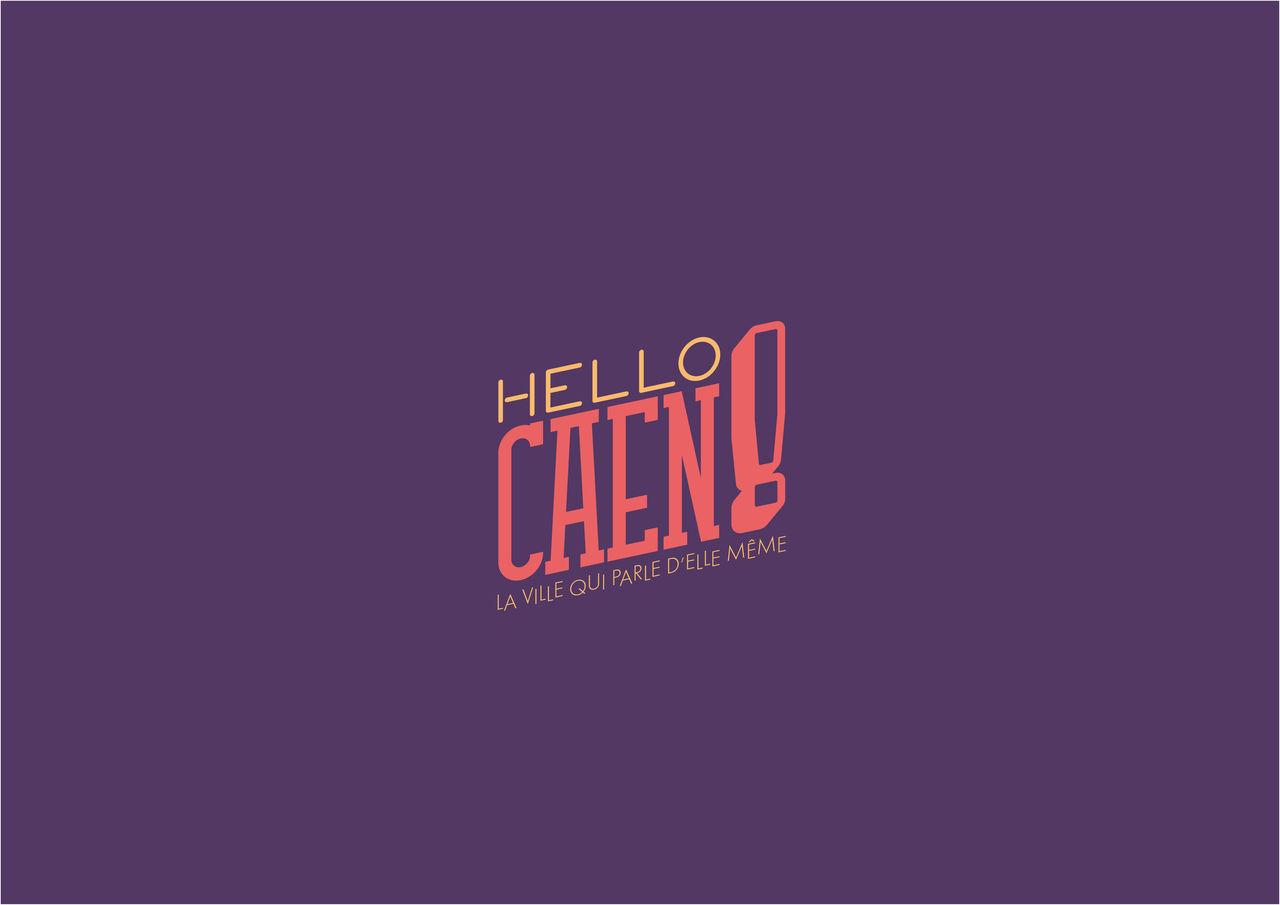 Charte graphique pour HELLO CAEN