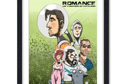 Couverture de BD SPACE ROMANCE