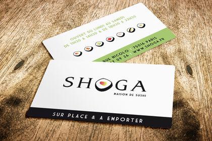 SHOGA - Maison de sushis, Paris