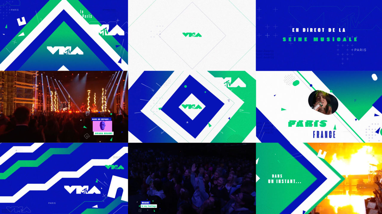 MotionDesign - MTV VMA 2020