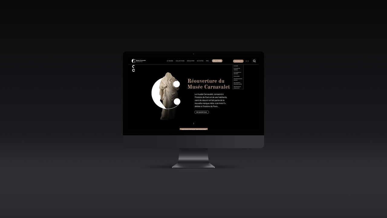"""Site Web - Les trois """"C"""""""