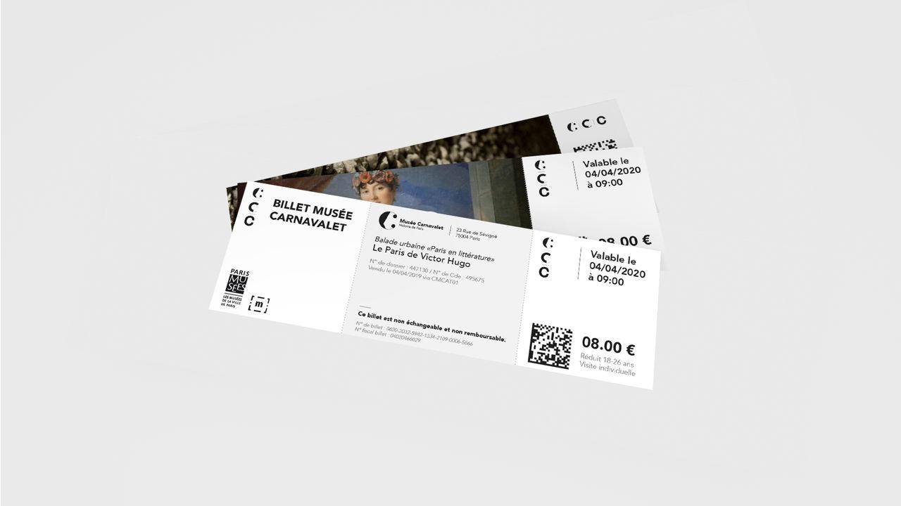 """Tickets - Les trois """"C"""""""