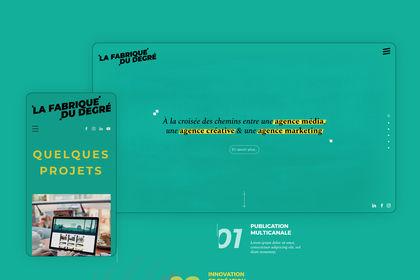 Site Web - La Fabrique du Degré