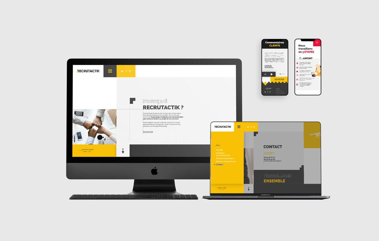 WebDesign - Recrutactik
