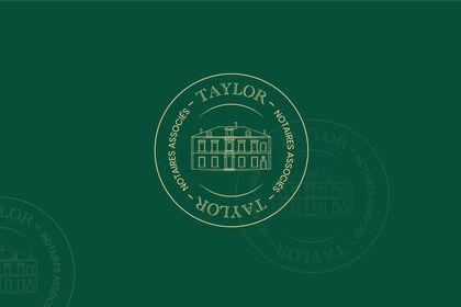 Logotype - Taylors, notaires associés