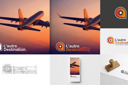 Logotype pour L'autre destination