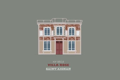 Illustration - Villa Rose de Saint-Aignan
