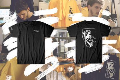 """Teeshirt """"Origine"""" - Flush skateboarding"""
