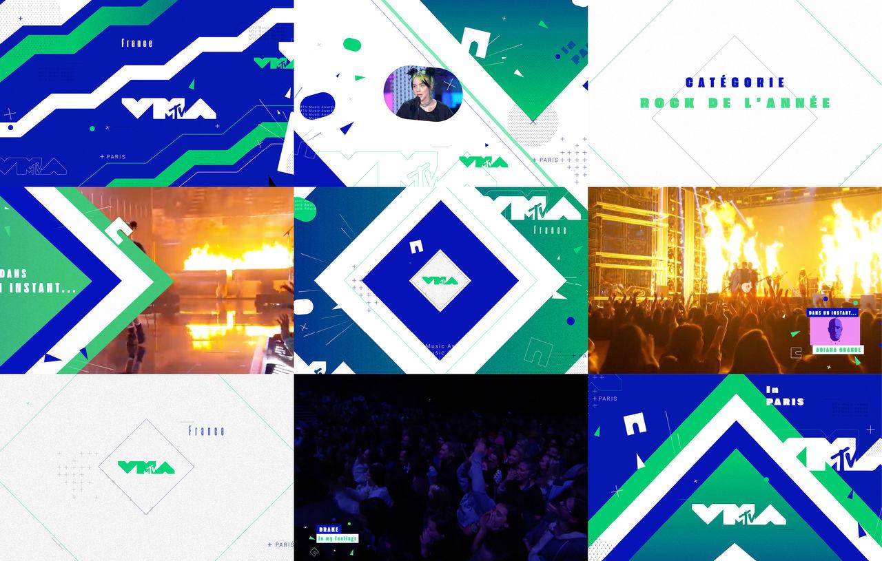 Motion design - MTV VMA 2020