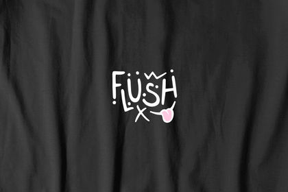 Logo - Flush skateboarding