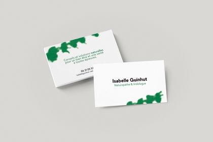 Carte de visite - Isabelle Guinhut