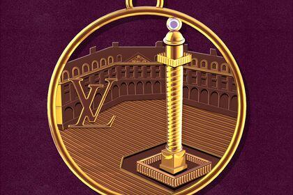 Médaillon Louis Vuitton
