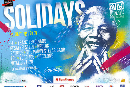Affiches Festival SOLIDAYS (2006-2014)