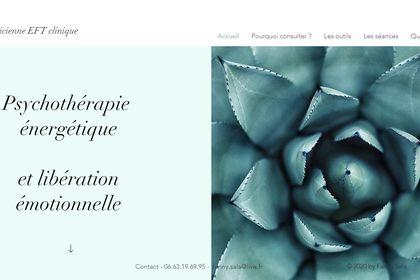 Site web Fanny Sala psychothérapeute
