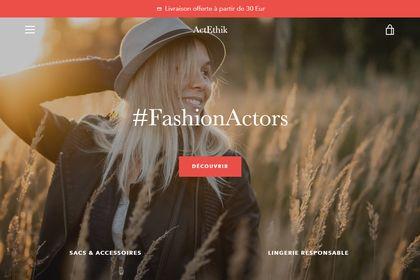 Site web ActEthik