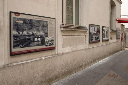 """Exposition extérieure """"Les Damnés de la Commune"""""""