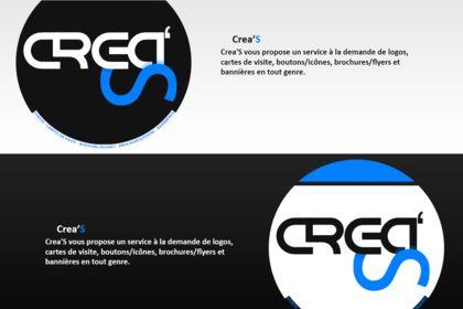 Logo Noir/Blanc Crea'S