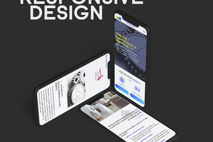 Responsive maquette web