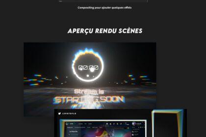 #3 Stream pack : 3D Rainbow