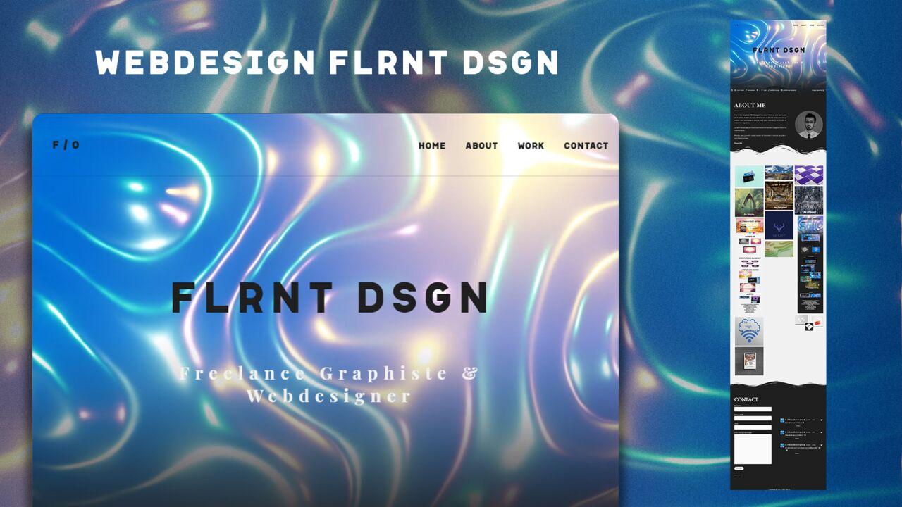 Webdesign FLRNT DSGN