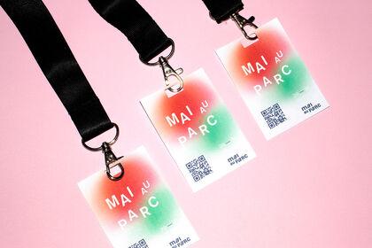 Création badge pour festival