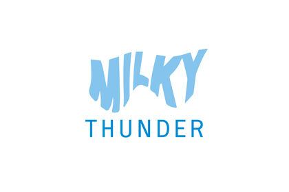 Logo pour le magazine Milky Thunder