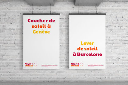 Duo d'affiche pour Night Express