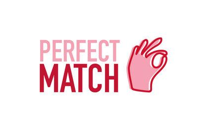 Logo pour Perfect Match, restauration rapide