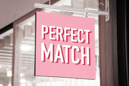 Logo Perfect Match, enseigne restaurant