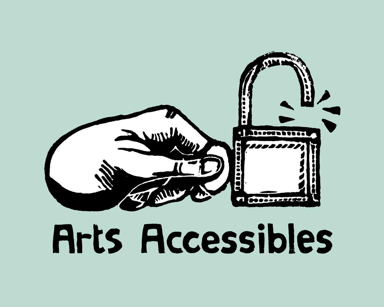 Logo et Charte d'Arts Accessibles