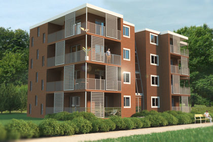 3D résidence Carré Vert